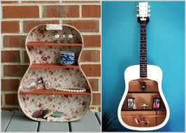 Guitar Home Decor 12 Absolutely Adorable Shelves You Can Include In Your Home Décor