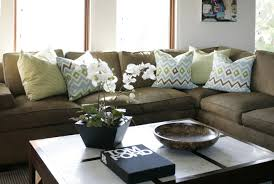 Olive Green Sofa by Trend Alert Karate Chopped Throw Pillows Bald Hairstyles
