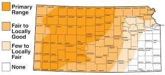 Map Of Counties In Kansas Pheasant Upland Birds Hunting Kdwpt Kdwpt