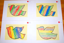 Interesting Color Combinations by Kindergarten Art With Miss Flores
