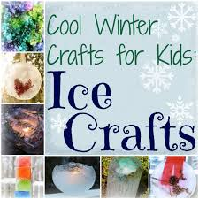 cool winter crafts for kids 10 ice crafts allfreekidscrafts com