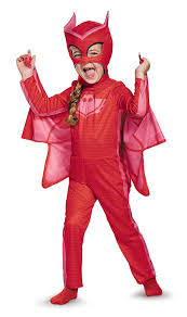 halloween costumes for 7 year old boys amazon com owlette classic toddler pj masks costume large 4 6x