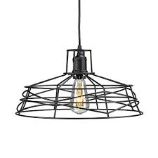 wire cage pendant light theonis wire cage pendant l 8431727 hsn