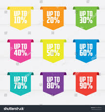 ribbon sale sale ribbon labels stock vector 353606018