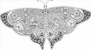 butterfly coloring pages printable diaet me