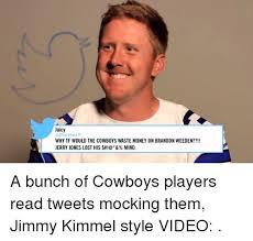 Brandon Weeden Memes - weeden cowboys meme