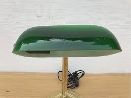 le de bureau opaline verte bureau beautiful le de bureau banquier laiton verre vert high