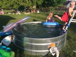 How to Make a Stock Tank Pool – Embracing Motherhood