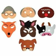 Printable Halloween Crafts For Kids by Cow Monkey Girls Adventurer List Farm Animal Mask Templates