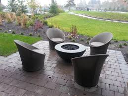 Contemporary Firepit Accessories Cool Decorative Shape Modern Gas Pit With