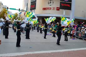 Flag Corps Thanksgiving Parade Entertains Thousands Source Of The Spring