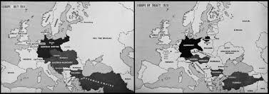 Map Of Europe 1914 Europe Map 1914 Images