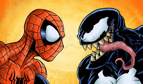 learn draw spider man venom marvel characters draw