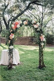 unique wedding arch inspiration floral canopy