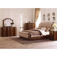 King Sleigh Bed Cotswold King Sleigh Bed In Cinnamon Nebraska Furniture Mart