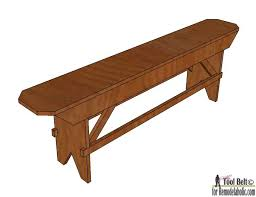 How To Build A Farmhouse Bench Remodelaholic How To Build A Primitive Farmhouse Bench