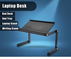 Desk Laptop Stand by Omax A6 Multifunctional Laptop Desk Folding Vented Stand 50 99