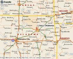 map of tulsa tulsa oklahoma map my