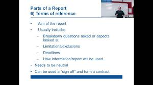 sample of report writing in english technical report writing youtube