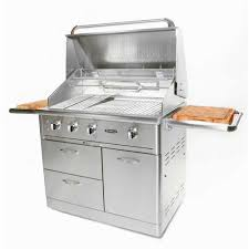 blackstone 36 in 4 burner propane gas grill in stainless steel