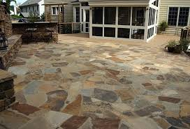 Irregular Stone Patio Patio Photos Walkway Photos Paver Patio Photos Manassas Va
