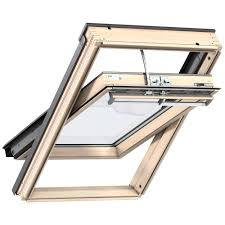 velux centre pivot electric roof window pine ggl 307021 roof