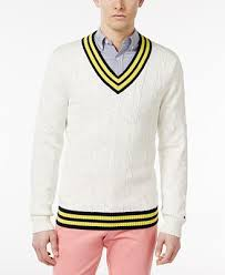 hilfiger sweater mens hilfiger s coast cricket cotton sweater sweaters