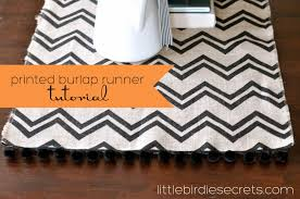 halloween burlap table runner tutorial little birdie secrets