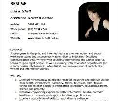 10 writer resume templates free pdf word samples