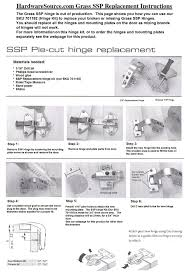 mepla grass ssp hinges for pie cut corner door hardwaresource com