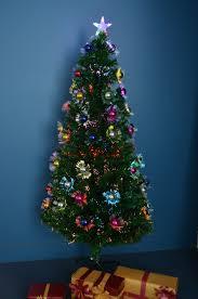 1 8m 6ft 180cm fibre optic led christmas xmas tree multi colour