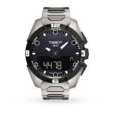 tissot black friday tissot t touch solar mens watch tissot brands goldsmiths