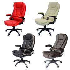 Office Computer Chair by Home Office Computer Desk Massage Chair Executive Ergonomic Heated