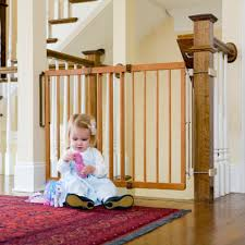 Child Stair Gates Amazon Com Cardinal Gates Wood Gate Maple Indoor Safety Gates