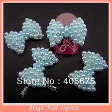 glitter silver spangle nail art decoration diy 3d nail charms