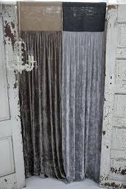 Slate Grey Curtains Grey Silk Curtains Platinum Silk Velvet With Slate Grey