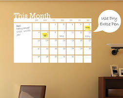 Dry Erase Board Decorating Ideas Wall Decal Calendar Home Design Furniture Decorating Great