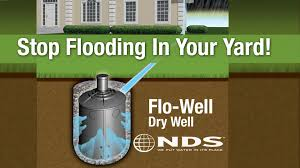 how to install nds flowell dry well drainage system youtube