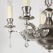 Neoclassical Chandeliers Wonderful Matching Antique Five Light Neoclassical Chandeliers C