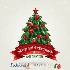seasons greetings happy holidays merry trade winds