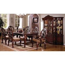 Tuscan Dining Room Chairs Tuscany Ii Dining Room Set Antique Cherry Furniture Of America