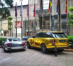 koenigsegg malaysia malaysia supercars gold range rover autobiography u0026 audi r8