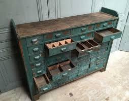 deco industrielle atelier meuble de métier atelier 32 tiroirs