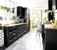 cuisine noir cuisine noir mat et bois lightful 9 invite nos plan travail de