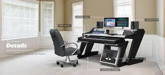 intricate home studio desk design on ideas homes abc