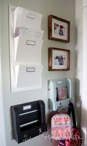 How To Build Wall Shelves Ana White Easy Wall Mail Or Magazine Bin Shelf Diy Projects
