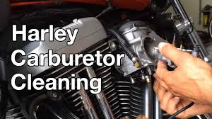 how to harley davidson sportster carburetor cleaning youtube