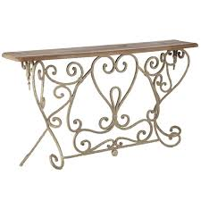 narrow metal console table bastille french style console table narrow oka