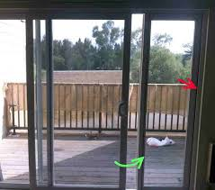 How To Install A Sliding Patio Door Install Interior Sliding Door Installing Patio New Opening How To