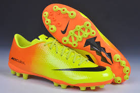 buy boots nike mercurial veloce ag soccer boots yellow orange black